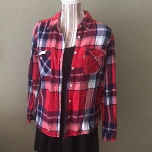Levi's flannel top